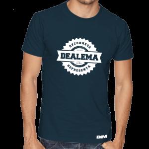 Dealema - T'shirt Reconhece e Representa
